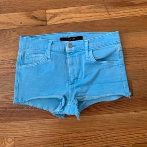 Joes Jean Short in blue Sz 26